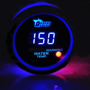KFZ LED Anzeige Digital Water Temp Wasser Temperatur Zusatz Instrument WYS