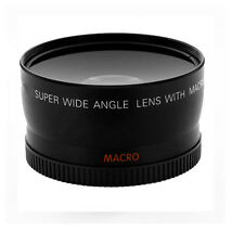 52mm Wide Angle Lens for with Macro 0.45x For Minolta & Panasonic DSLR cameras