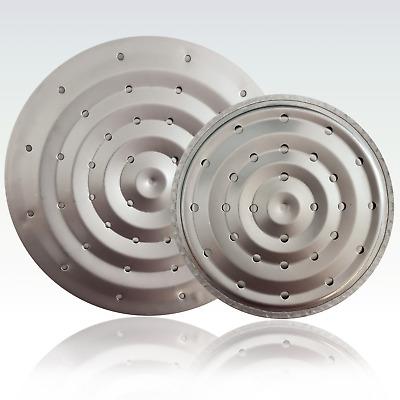 2 x  Gasherd Metall Herd Aufsatz Gas Kochplatte Kochfeld Schutzplatte 15,5 /&18cm