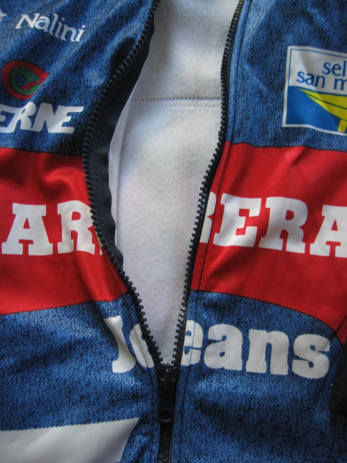 Veste Cycliste CARRERA CARRERA CARRERA Tassoni Nalini Hiver vintage Equipe Pro 1993 - 6 / XXL cb76f0