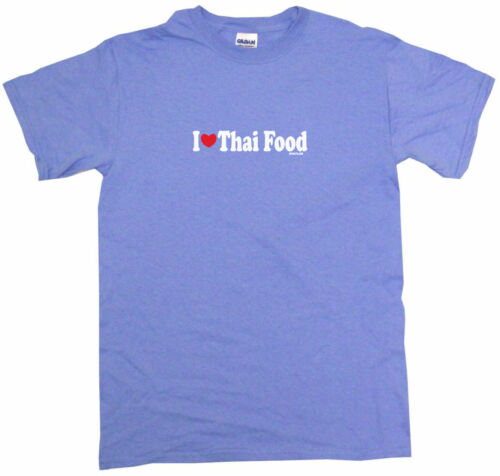 I Heart Love Thai Food Mens Tee Shirt Pick Size Color Small-6XL