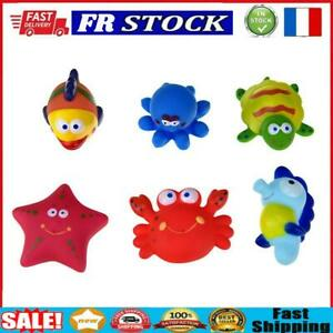 6pcs Baby Sea Animal Swimming Water Bath Toys Kid Children Shower Supplies
