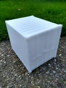 16mm scale 10' Container, 16mm Gauge, 10 foot, railway, railroad, model 1:19.