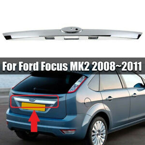 NEU-Heckklappengriff-Kofferraum-Chrom-Leiste-1581833-Fuer-Ford-Focus-2-MK2-08-11