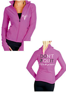HEELS-DOWN-CLOTHING-SPANDEX-SPORT-JACKET-DONT-QUIT-ALL-SIZES