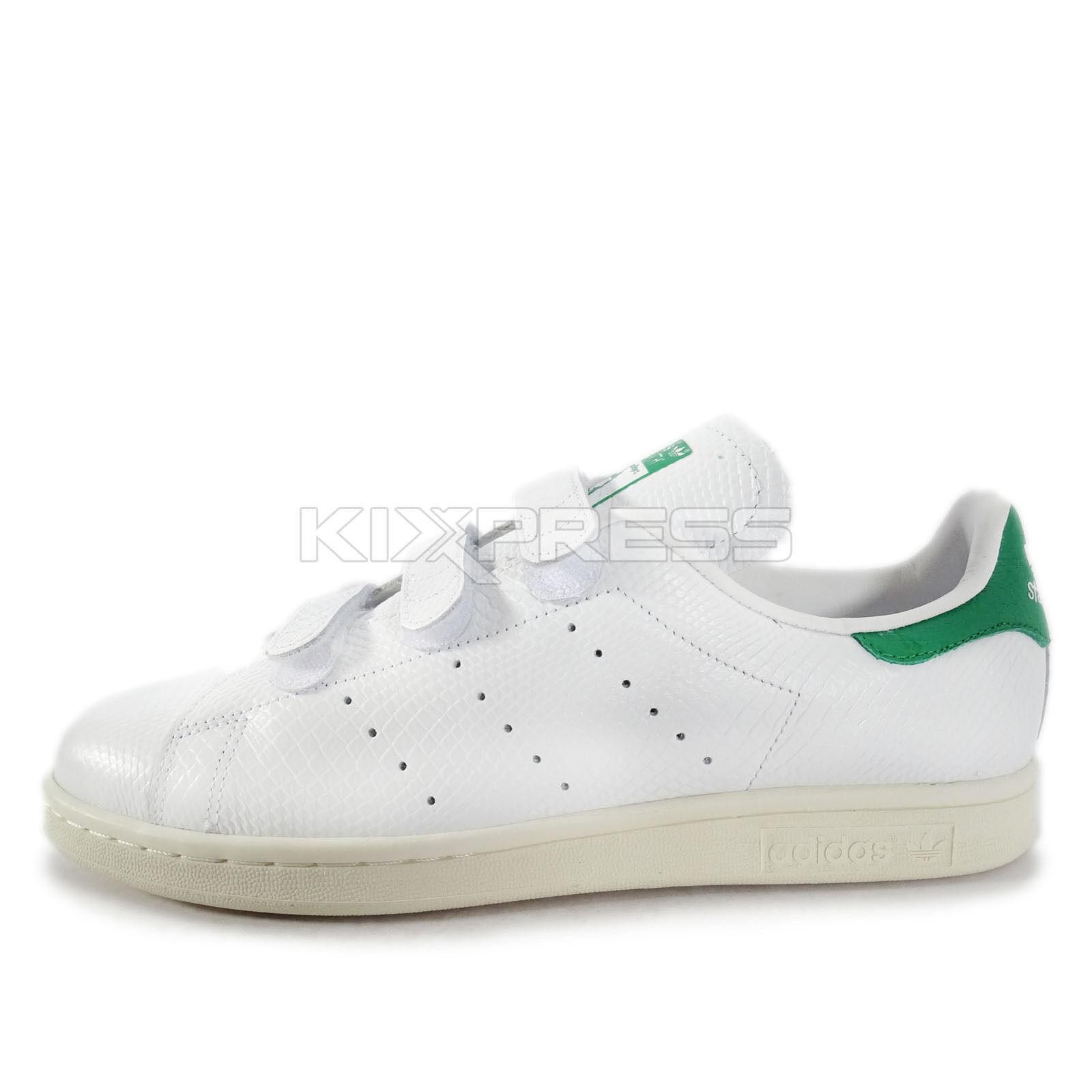Adidas Originals original Stan Smith CF [b24535] original Originals casual blanco / verde 906a8d