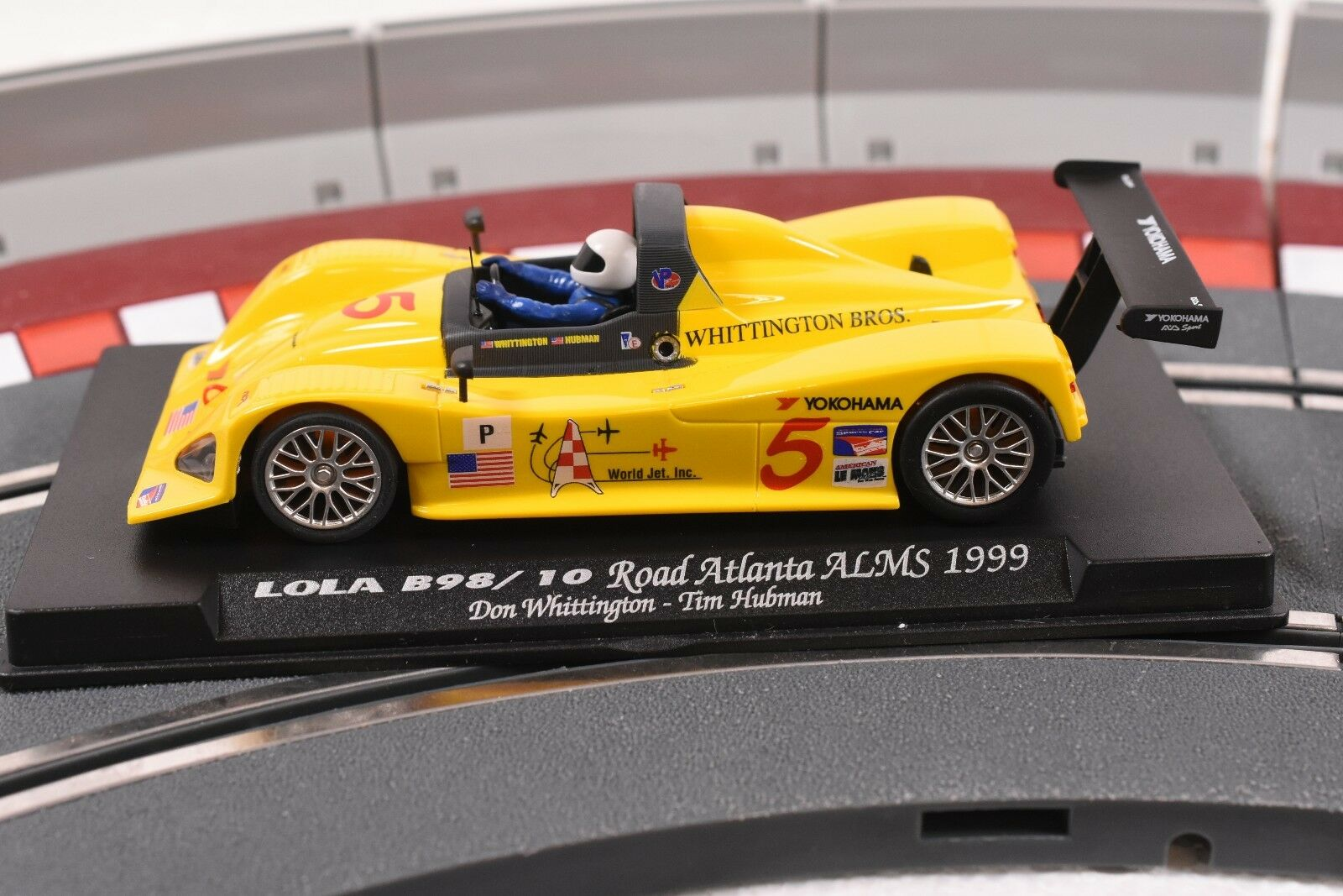 88038 FLY CAR MODEL 1 32 SLOT CAR LOLA B98 10 ROAD ATLANTA ALMS 1999 A-501