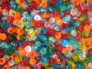 Vrac-de-100-pieces-LEGO-fluo-transparentes-city-space-star-wars-harry-potter