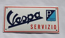 Vespa p - 10x20 cm-email escudo-escudo-cartel-Top - Escudo de esmalte