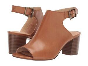 e6a01f689c60 Women s Shoes Clarks DELORIA GIA Slingback Leather Block Heels 40100 ...