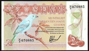 1978-Suriname-2-1-2-Gulden-Banknote-UNC-P-118b