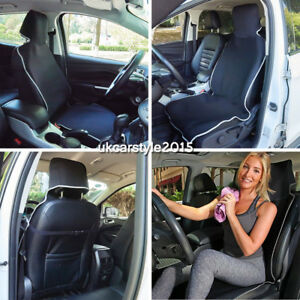 Image Is Loading Waterproof Neoprene Car Seat Cover Black Prefect For