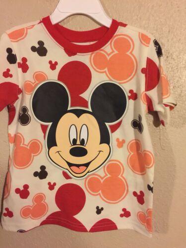 Toddler Boys Mickey Mouse Shirt