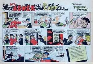 Li-039-l-Abner-by-Al-Capp-large-half-page-color-Sunday-comic-December-7-1969