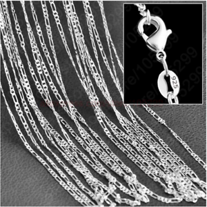 20Pcs-925-Sterling-Silver-Snake-Chain-Necklace-Jewelry-Gift-16-30inch-Wholesale