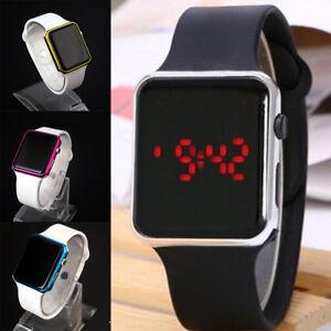 Women-Men-Unisex-Digital-LED-Sports-Watch-Silicone-Band-Wrist-Watches-Wristwatch
