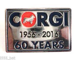 Licencia-Oficial-Corgi-60-anos-1956-2016-Anniversary-Metal-Chapa-de-esmalte