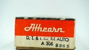 HO-Scale-Athearn-DT-amp-I-Auto-Round-Roof-Car-Michigan-Brown-Box-car-Model-Train