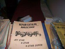 Minneapolis Moline 4 Star Amp Jet Star Repair Manual White Oliver