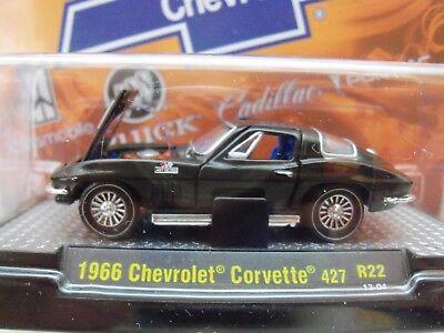 M2 MACHINES 1:64 DETROIT MUSCLE 1966 CHEVROLET CORVETTE 327 32600-35 CHASE CAR
