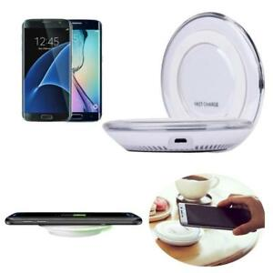 Qi-Wireless-Charging-Charger-Pad-For-Samsung-Galaxy-S7-S7-Edge-Cable-US-STOCK