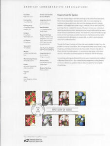 1730-49c-Forever-Flowers-from-the-Garden-5233-5240-Souvenir-Page