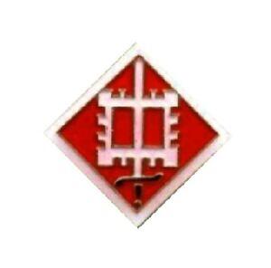 US Army 173rd Airborne Brigade Lapel Pin Hat Tie Tac Brass CHN