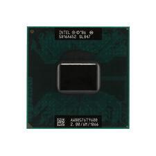 New Intel Core 2 Duo T9600 2.8 GHz Dual-Core 6M Processor Sokcet P PGA478 CPU