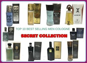 Top 10 Best Selling Cologne Of Men S By Secret Collection 3 4 Oz New In Box 819929011024 Ebay