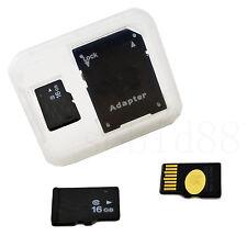 16GB 16G Micro SD SDHC TF tarjeta de memoria flash para Samsung Galaxy S6 S7 S5 A3 Edge