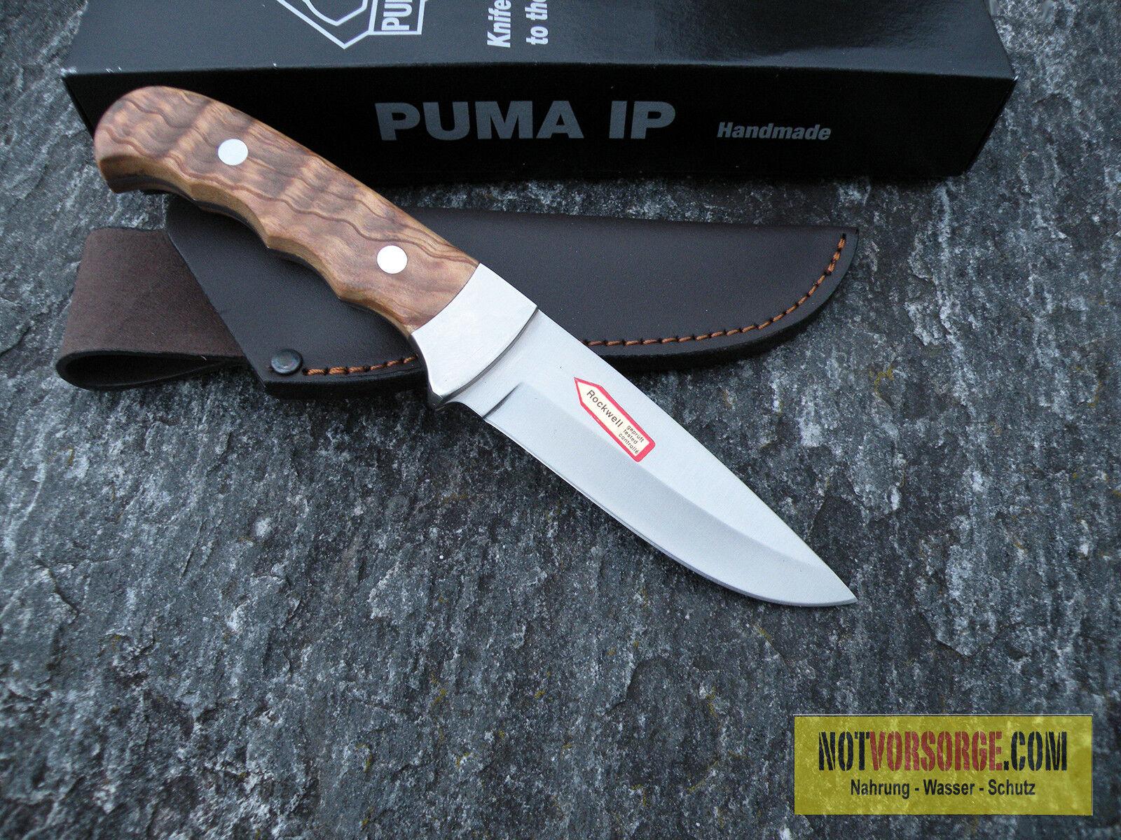 MESSER LEDERSCHEIDE Puma IP Outdoor Hunter Olive Gürtelmesser Jagdmesser 332211 LEDERSCHEIDE MESSER 2a1ec2