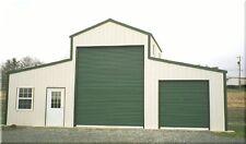 American Barn All Galvanized Steel Amp Insulated Building Garage Metal