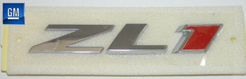 12-18 Camaro ZL1 Factory Front Grill Emblem With Pin Mounts   NEW GM 22830717
