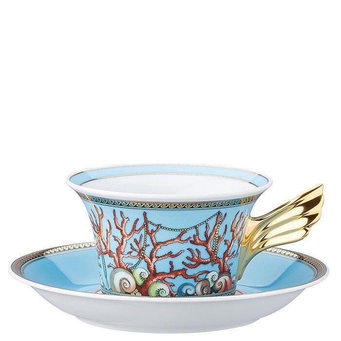 25 25 25 Anni Versace, Tazza Tè con piatto Les Tresors de la Mer, Porcellana, Versace bc65c1