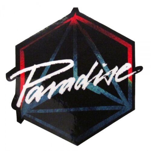 OFFICIAL Paradise Ibiza Club Sticker Large DC10 Jamie Jones Black Logo 10cm