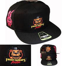 06ce1afccc2 Five Nights At Freddy Fazbear s Freddy Pizza Character Snapback Hat Cartoon  Cap