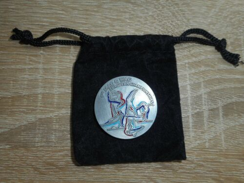 PIECE EUROPEAN CHAMPIONSHIPS GYMNASTIQUE  MONTPELLIER 2015 COLLECTOR