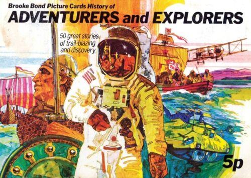 Brooke Bond Adventures and Explorers Poster