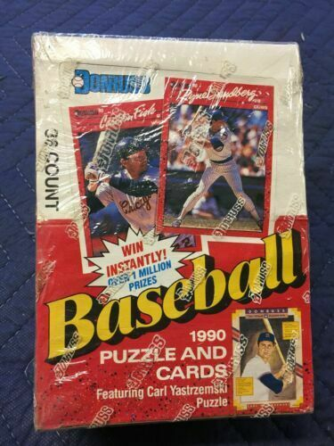 Donruss Baseball 1990 Puzzle And Cards For Sale Online Ebay
