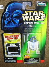 "Star Wars R2-D2 with Scanner, Scomp Link, Arm, Saw 3.75"" Freeze Frame POTF Fig."