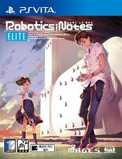 Robotics Notes Elite (2015, PS Vita) Korean Edition / Package