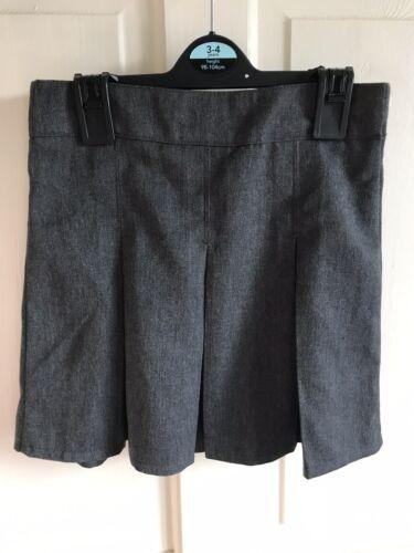 Age 4-10 Years BNWOT School Grey Skirt X 3 Adjustable Waist Uniform Girls