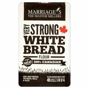 W H Marriage Very Strong White 100% Canadian Bread Flour 1.5kg