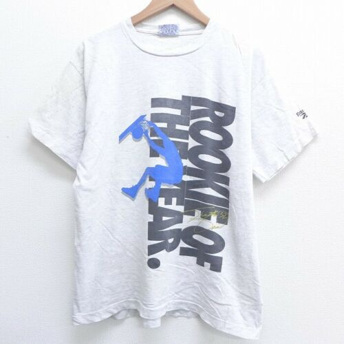 Champion Mens S//S T-Shirt VERTICAL Athletic Gym WHITE Streetwear S-2XL $30