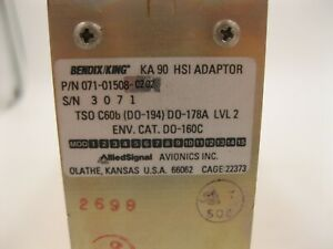 Bendix-King-KA-90-HSI-Adaptor-071-01508-0202