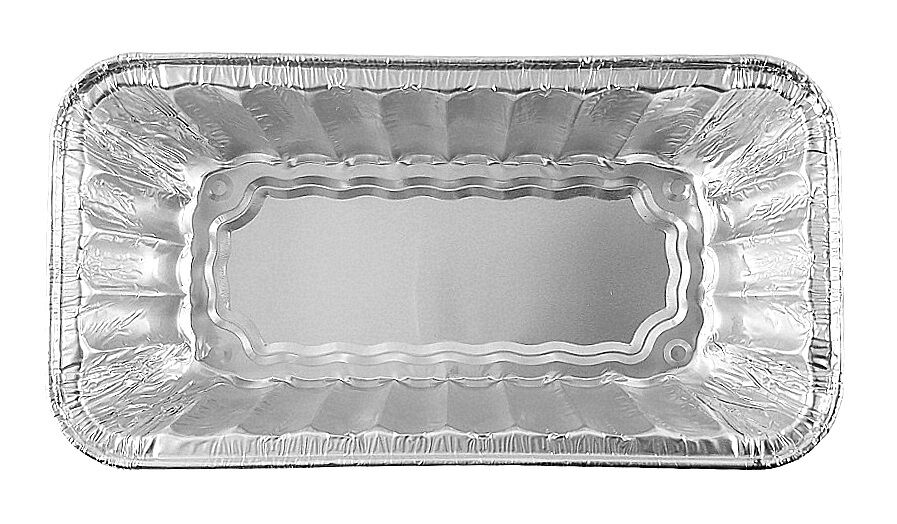 Handi-Foil 2 lb. Red Snowman Holiday Christmas Loaf Bread Pan w/Clear Dome Lids 29