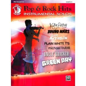Pop-amp-Rock-Hits-Instrumental-Solos-Alto-Sax-Altsaxophon-Noten-Musiknoten