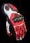 miniatura 2 - Moto Guanti in Pelle STechMoto ST1830-DKH Touring Nero, Rosso, Bianco, Flu