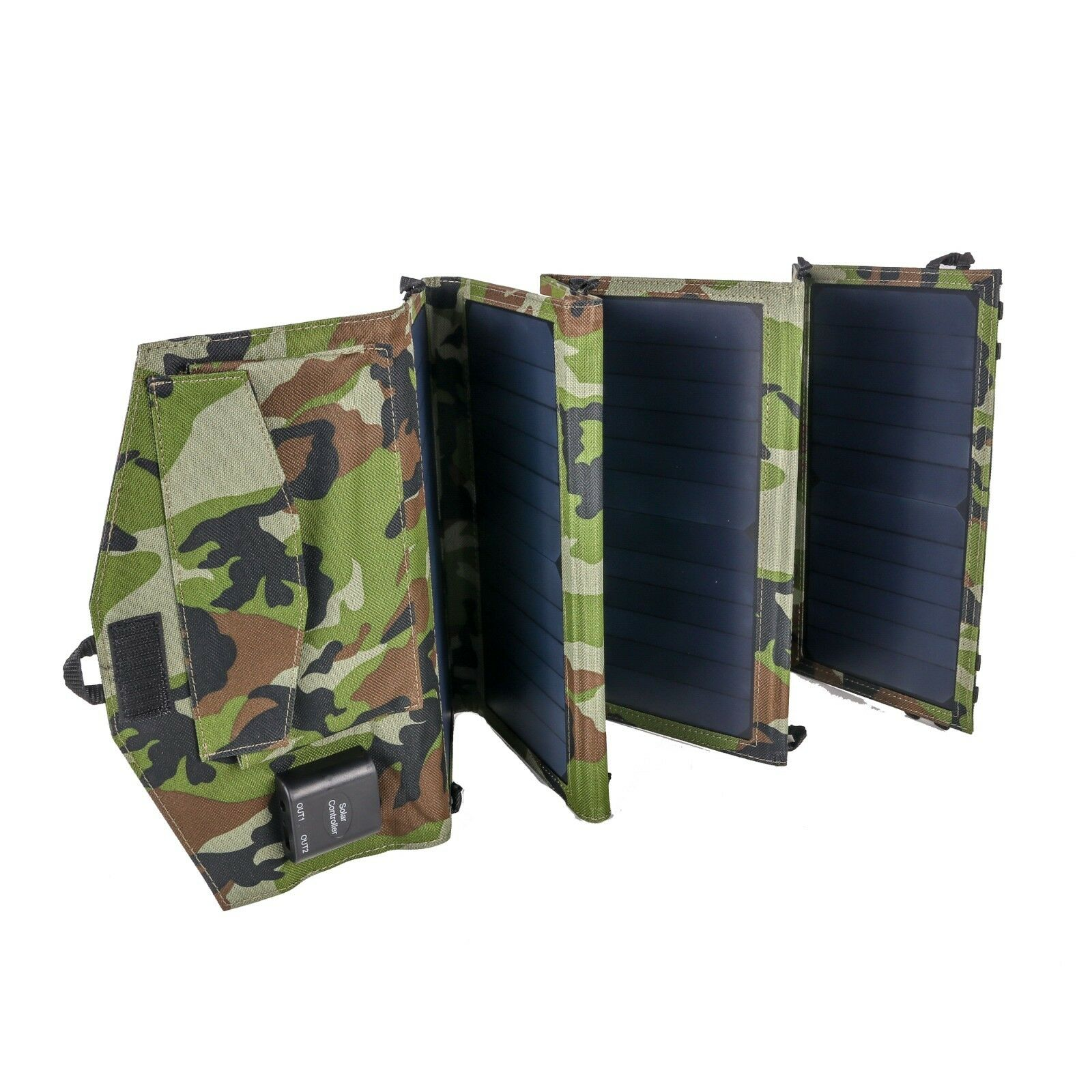 Cult Tackle Camuflaje Panel Solar 40w Pesca de Carpas Cargador Batería
