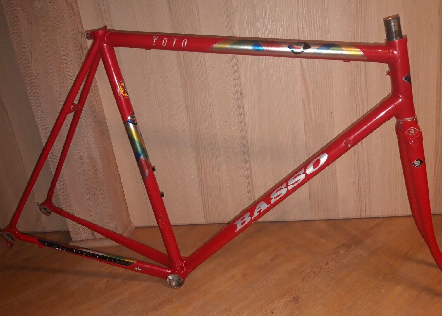Basso Loto Stahlrahmen Steel frame,no colnago